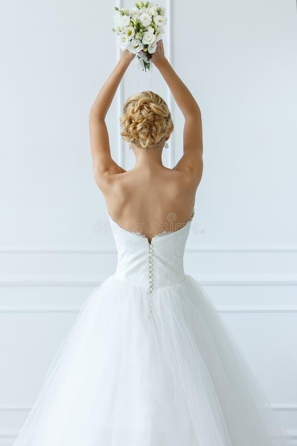 Huwelijk Mooie Bruid stock foto