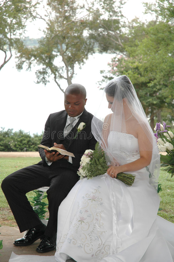 Huwelijk Nuptials royalty-vrije stock foto's