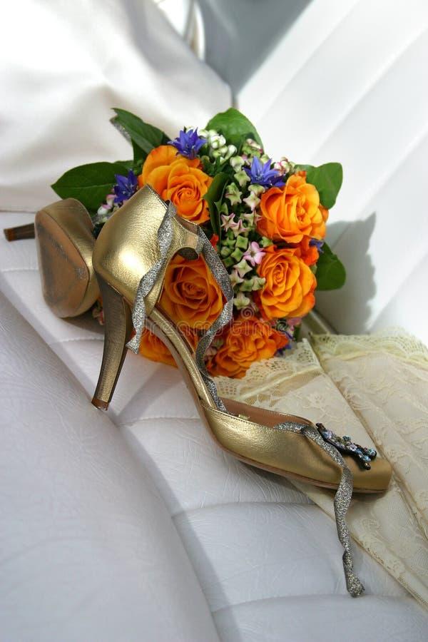 Huwelijk toebehoren royalty-vrije stock afbeeldingen