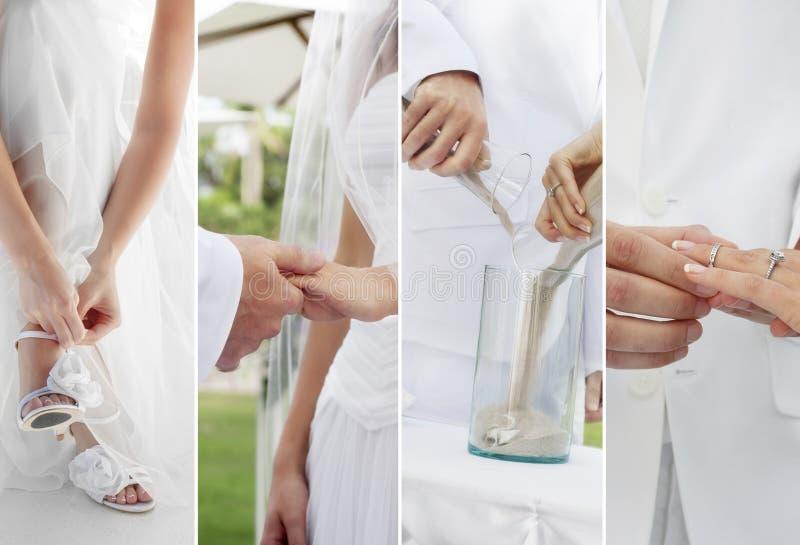 Huwelijk vier stock afbeeldingen
