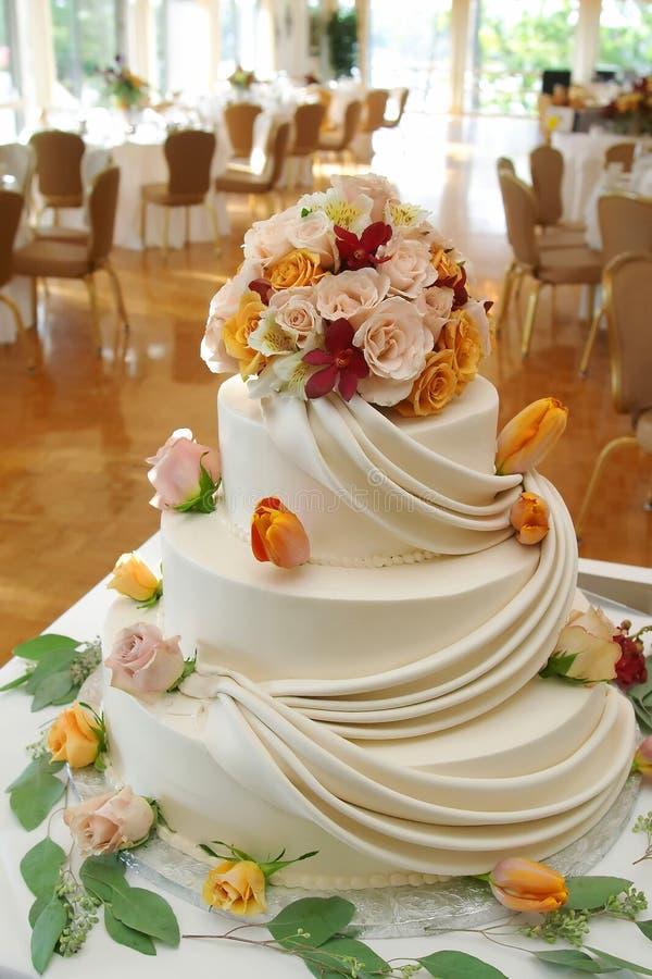 huwelijks cake   stock fotografie