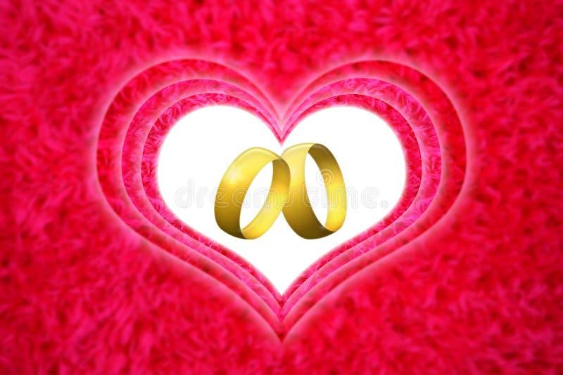 Huwelijksaftelprocedure royalty-vrije stock foto