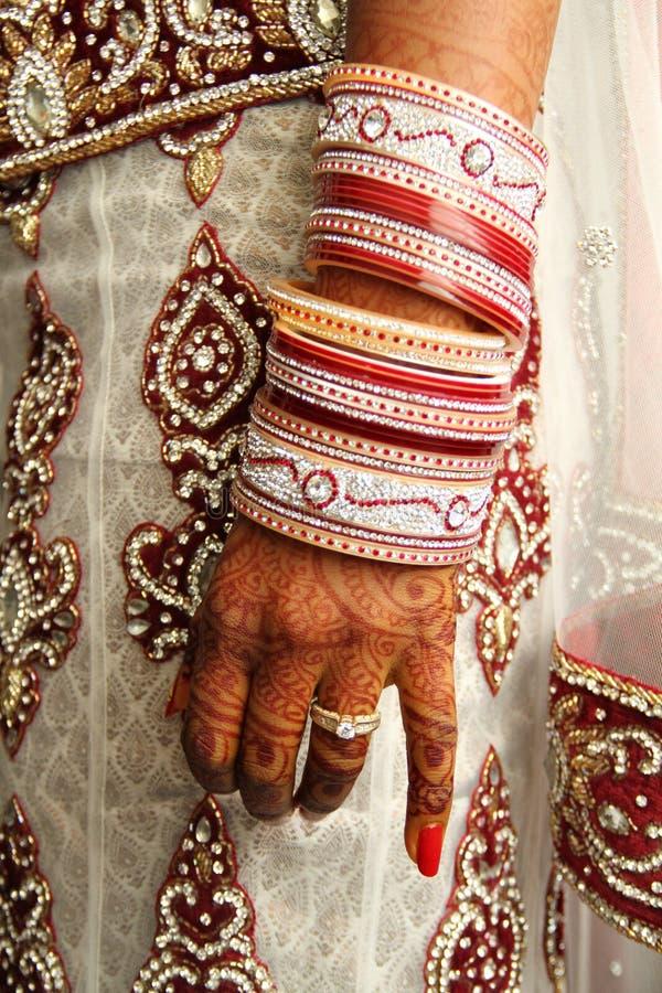 Huwelijksarmbanden stock foto