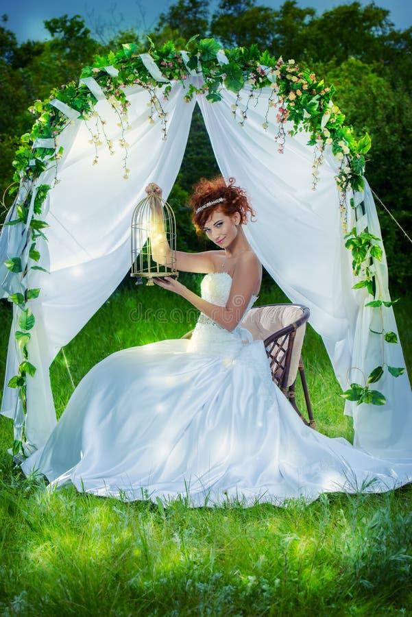 Huwelijksboog stock afbeelding
