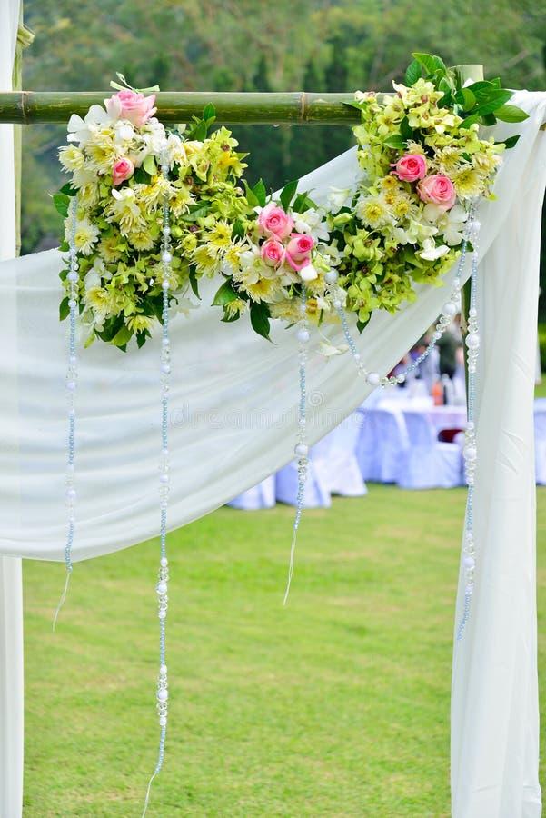 Huwelijksceremonie stock afbeeldingen