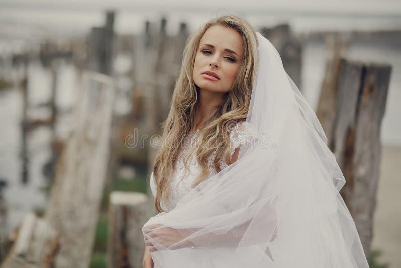 Huwelijksdag in Odessa royalty-vrije stock afbeeldingen