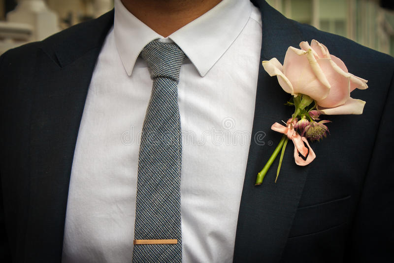 Huwelijkskostuum royalty-vrije stock foto