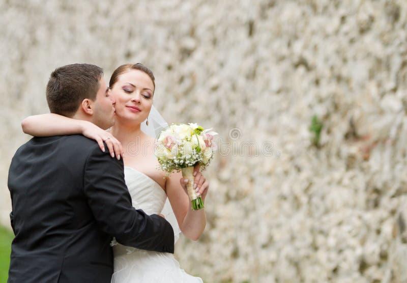 Huwelijkspaar stock afbeeldingen
