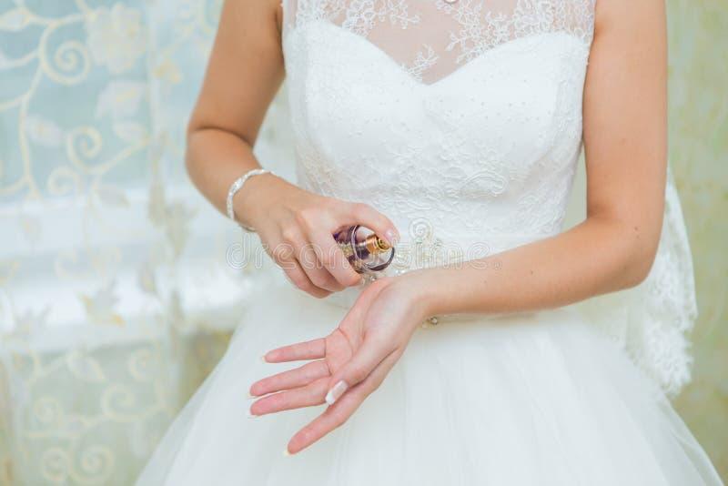 Huwelijksparfum royalty-vrije stock foto's