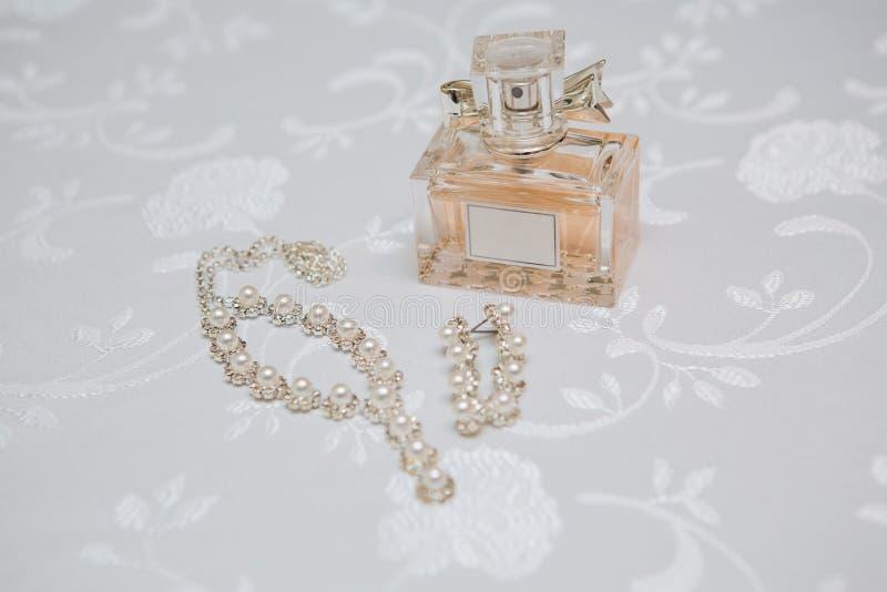 Huwelijksparfum royalty-vrije stock afbeeldingen
