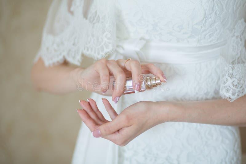 Huwelijksparfum royalty-vrije stock afbeelding