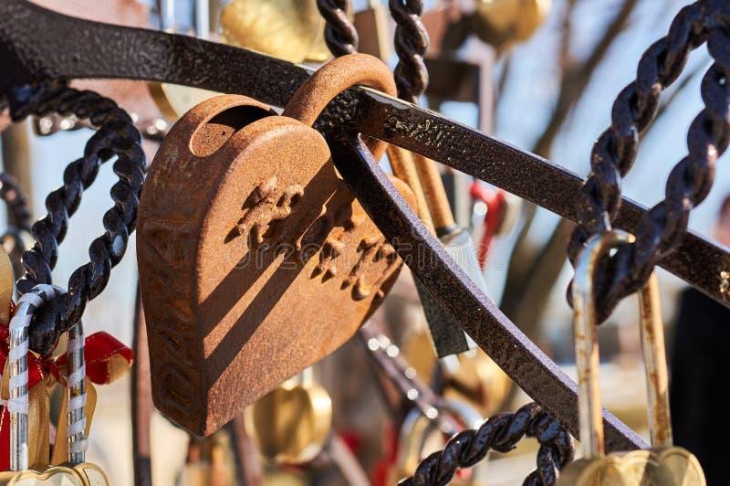 Huwelijkssloten van liefde stock foto's