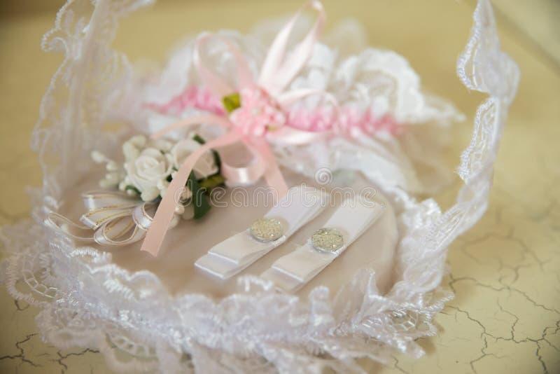 Huwelijkstoebehoren stock foto