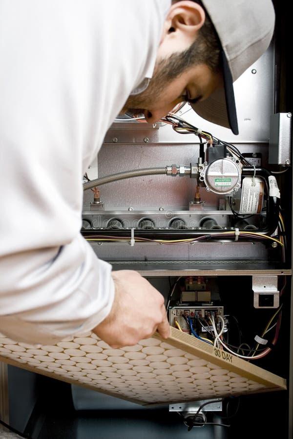 Free HVAC Technician Royalty Free Stock Photo - 11882555