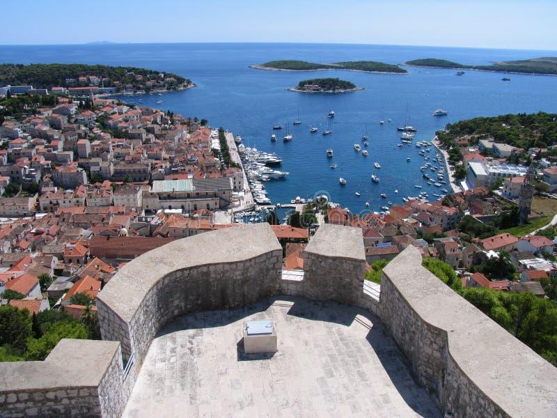 Download Hvar stock image. Image of blau, meer, kroatien, stadt - 7881743