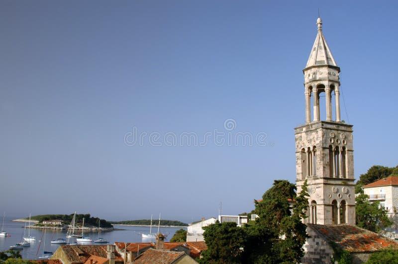 Hvar croatia stock photography