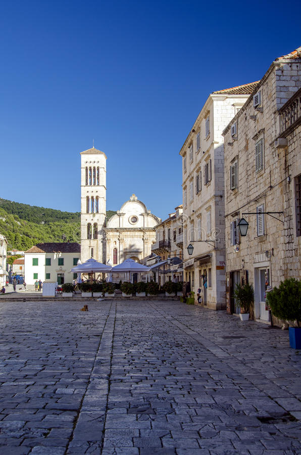 Download Hvar, Croatia editorial image. Image of roof, bell, iron - 29496630