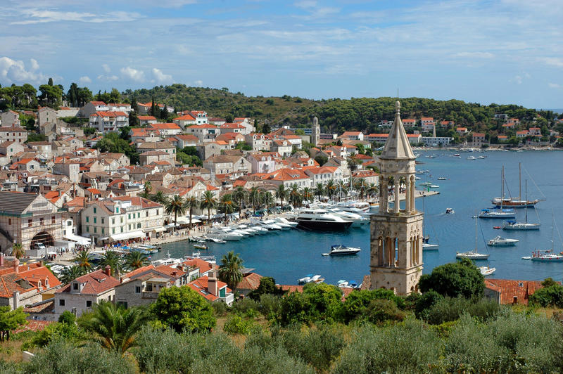 Hvar, Croatie photographie stock