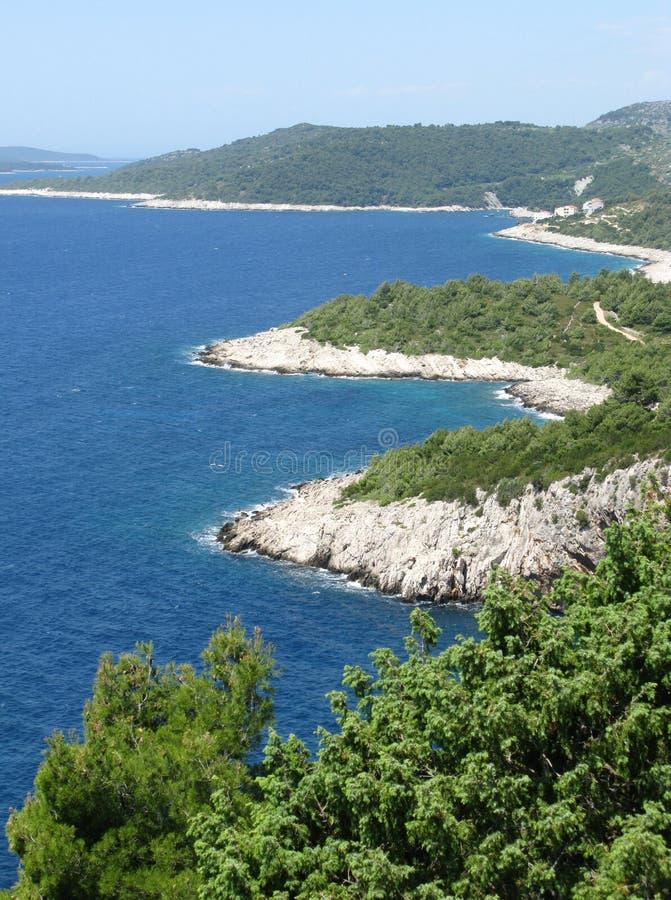 Hvar in Kroatië royalty-vrije stock foto's