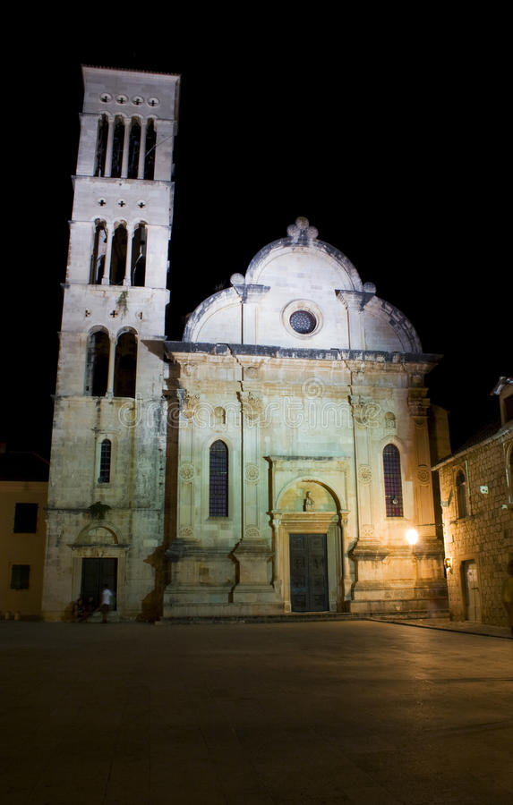 Download Hvar by night stock photo. Image of croatia, city, night - 23470620