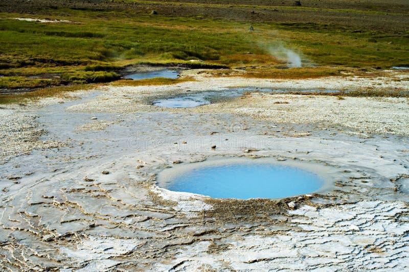 Hveravellir的片段 冰岛 免版税图库摄影
