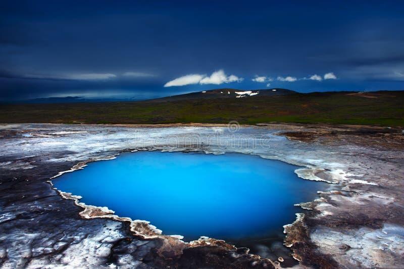 Download Hveravellir stock image. Image of geothermal, night, steam - 25979717