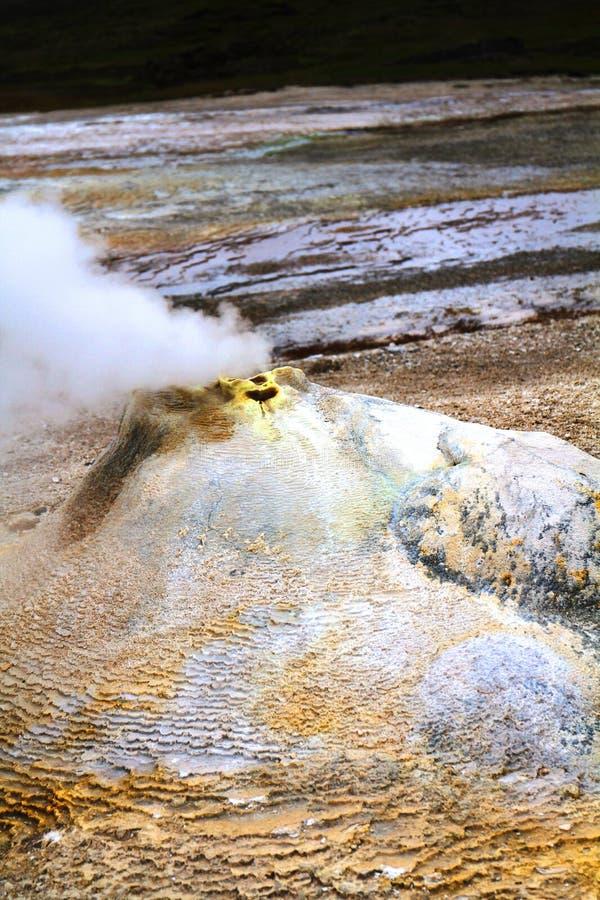 Hveravellir geothermisch park royalty-vrije stock fotografie