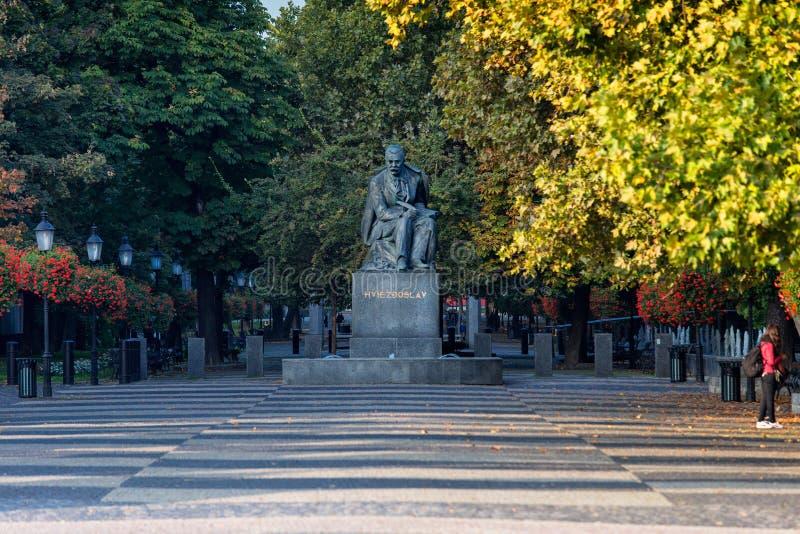 Hviezdoslav Square stock afbeeldingen