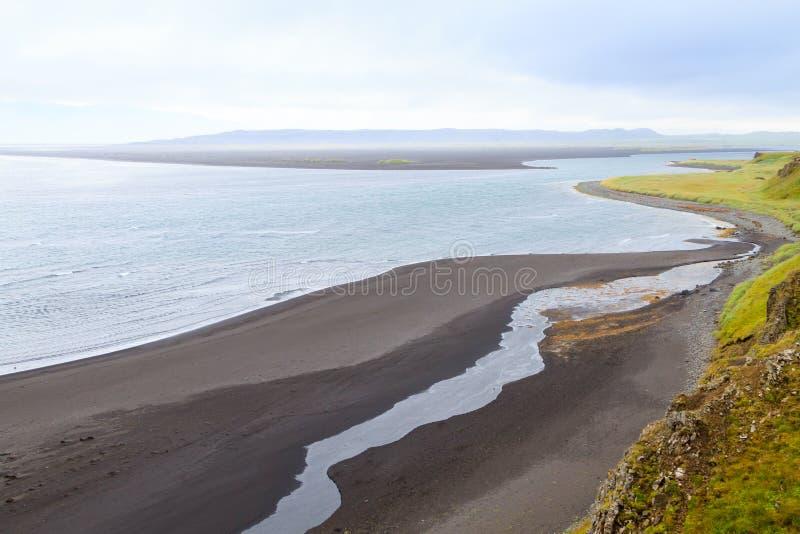Hvitserkur sea stack, Iceland. Black sand beach. North Iceland landmark, highlands, vatnsnes, area, attraction, basalt, beauty, dragon, famous, geological royalty free stock images