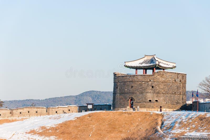 Hwaseong-Festung lizenzfreie stockbilder