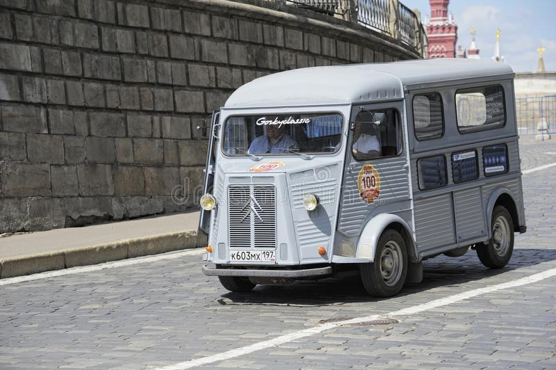 HY Citroen minibus royalty free stock photo