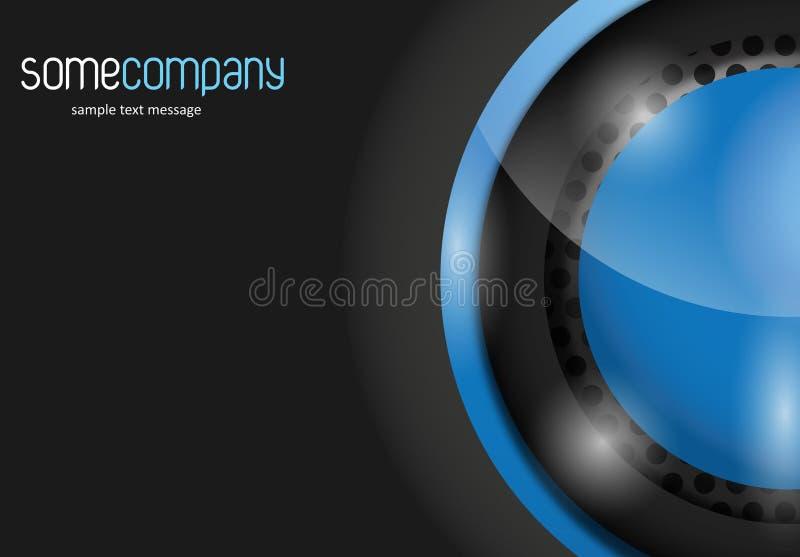 Hy-tech Background stock illustration