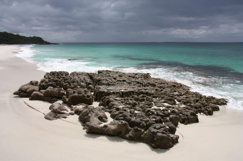 Hyams Beach, Jervis Bay stock photos