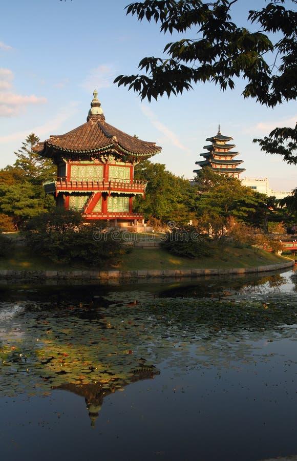 Free Hyangwongjeong In Gyeongbokgung Castle Stock Image - 27083491