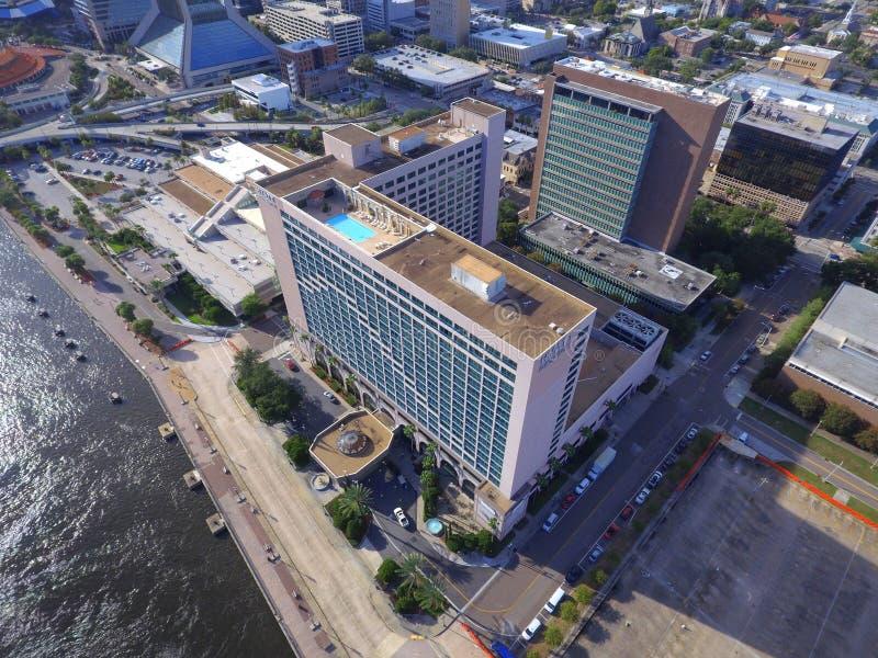 Hyatt Regency Downtown Jacksonville USA royalty free stock photos