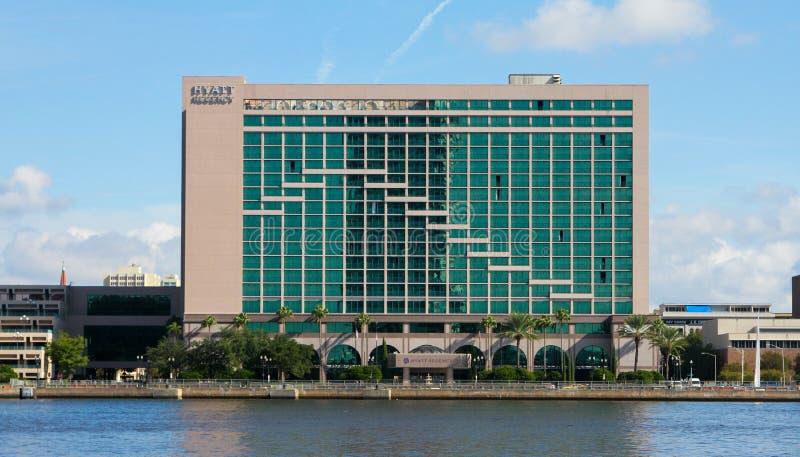 Hyatt Regency, Jacksonville, Florida arkivbilder