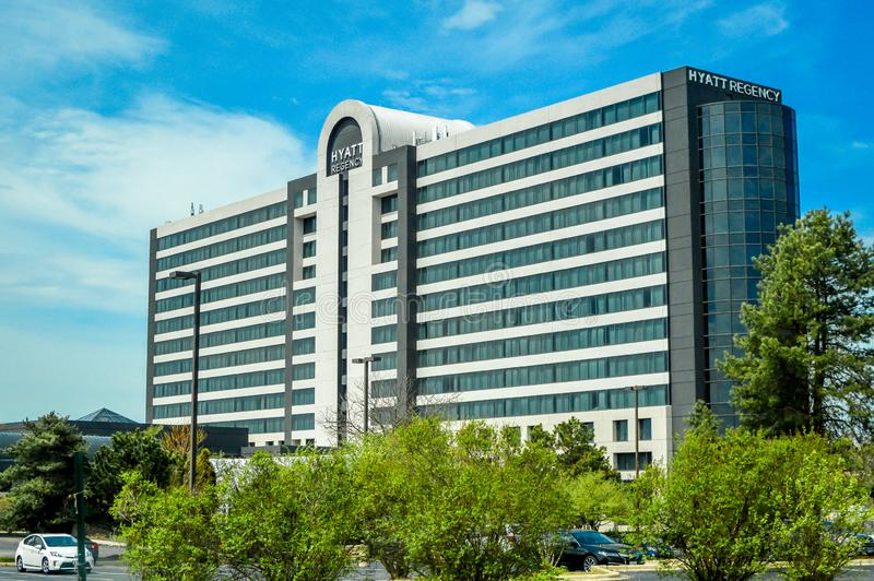 Hyatt Regency - Lisle, Illinois stockbilder