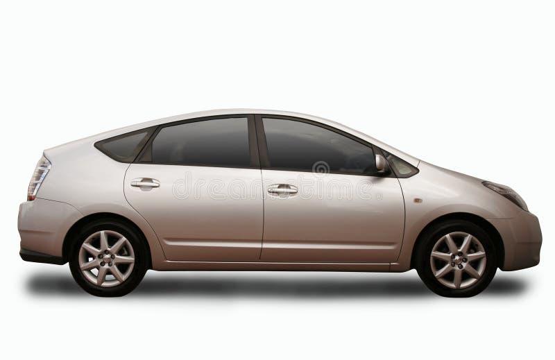 Hybrid car stock images
