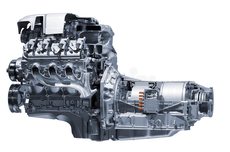 Download Hybrid car engine stock image. Image of science, automobile - 18970749