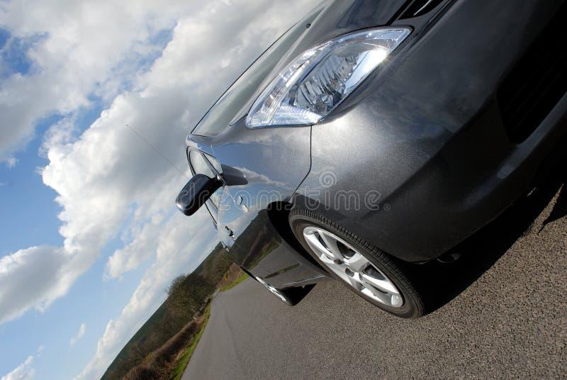 Hybrid Electric Car. stock photo