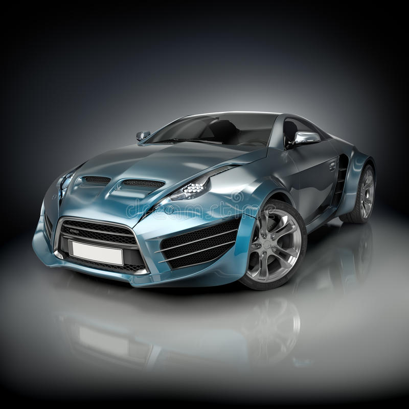 Download Hybrid Sports Car Stock Photography - Image: 21490602