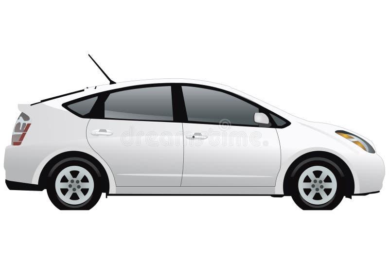Hybride Auto vector illustratie