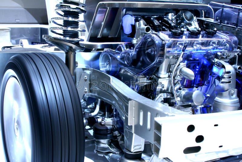 Hybrides Auto lizenzfreies stockfoto