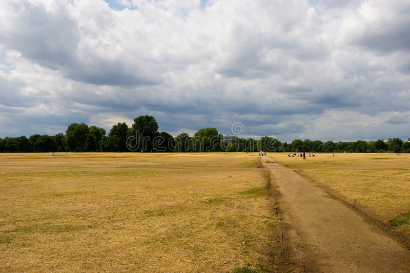 Download Hyde Park, London stock photo. Image of london, open, short - 977528