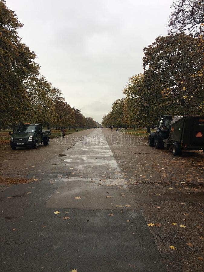 Hyde Park stock photo