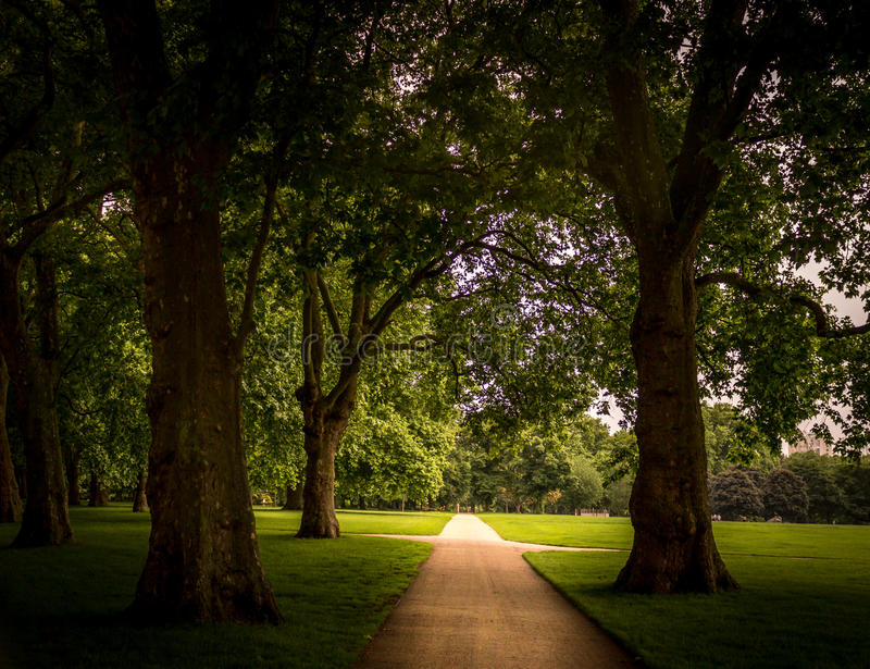 Hyde Park Path image stock