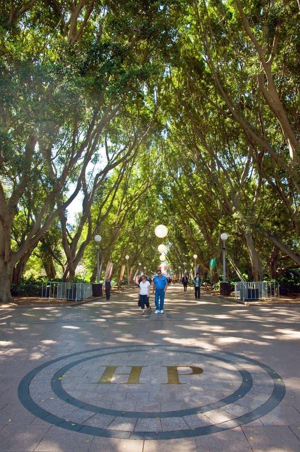 Hyde Park Sydney foto de stock royalty free