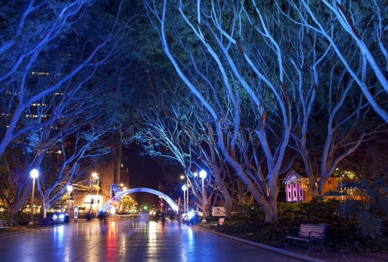 Hyde Park, Sydney, Austrália imagens de stock royalty free