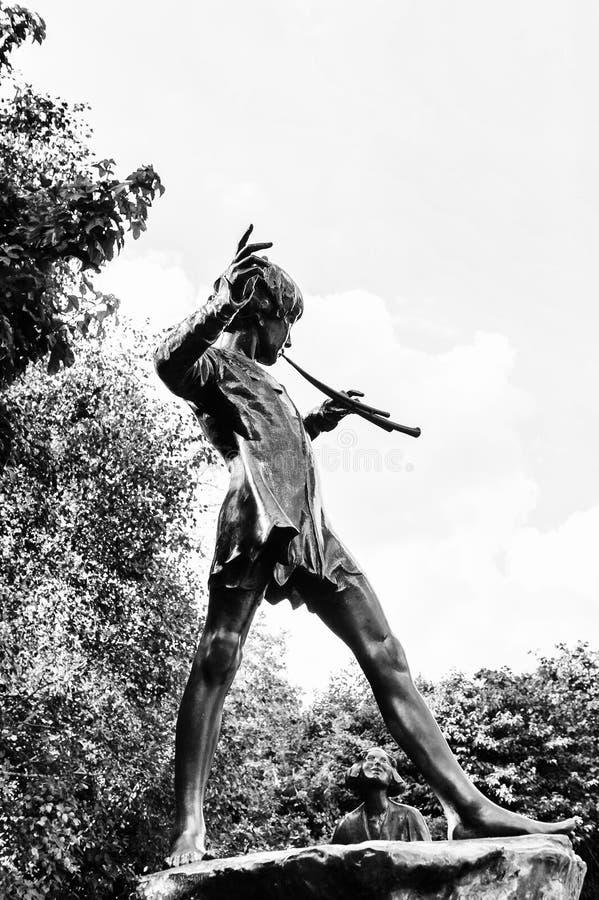 Hyde Park, uno di più grandi parchi a Londra immagini stock
