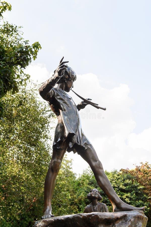 Hyde Park, uno di più grandi parchi a Londra fotografie stock libere da diritti